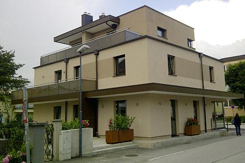 <strong>Wohnhaus Salzburg Aigen<span><b>in</b>Wohnbau </span></strong><i>→</i>