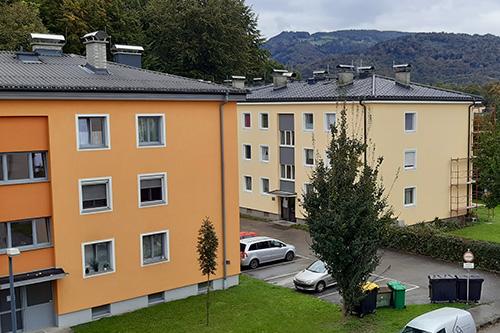 <strong>Wohnanlage Salzburg Süd<span><b>in</b>Wohnbau </span></strong><i>→</i>